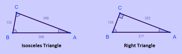 The only isosceles and right triangles with rational value side lengths that have identical perimeters and areas