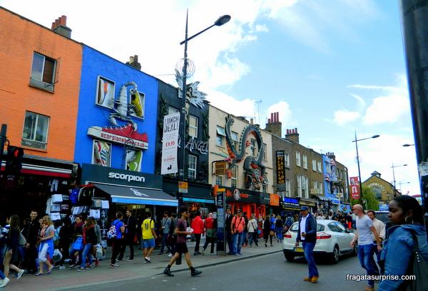 Camden Town, berço do movimento Punk