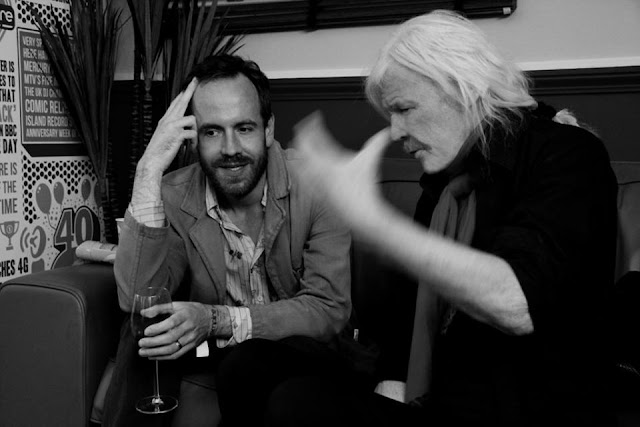 Ulrich Schnauss, Edgar Froese 2014 / photo Bianca Froese-Acquaye