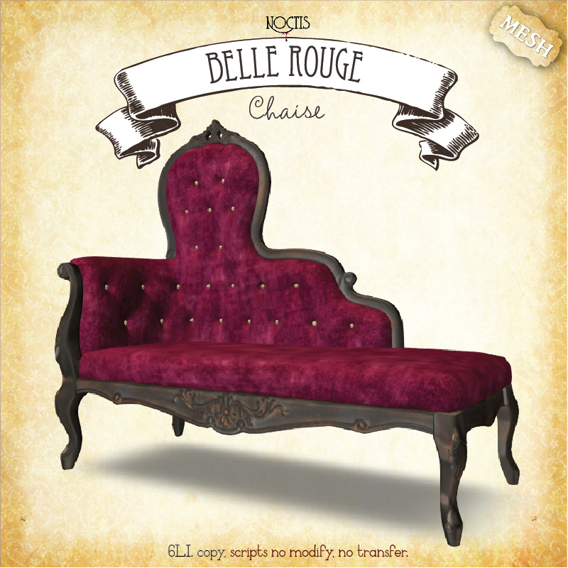 New Belle Rouge Furniture, Plants And Lighting For Genre Burlesque. All  Heavily Discounted During The Event. Full Details Here: Genre Burlesque  Shopping ...