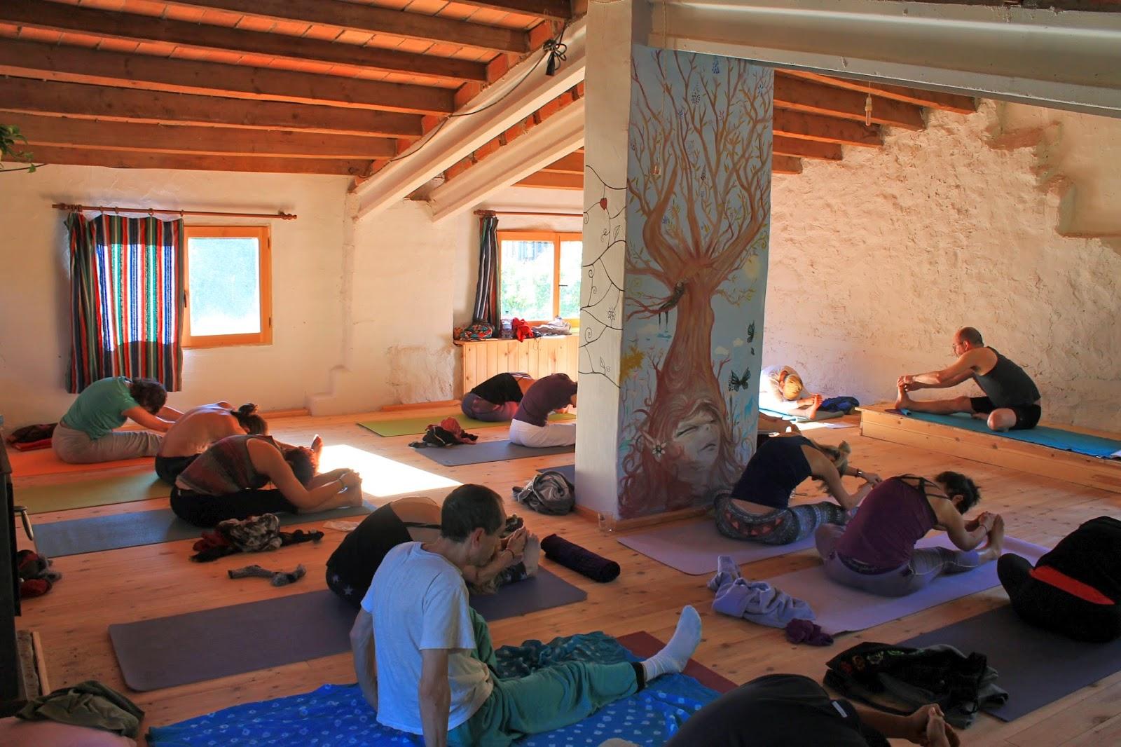 Ashtanga Yoga Room Temperature