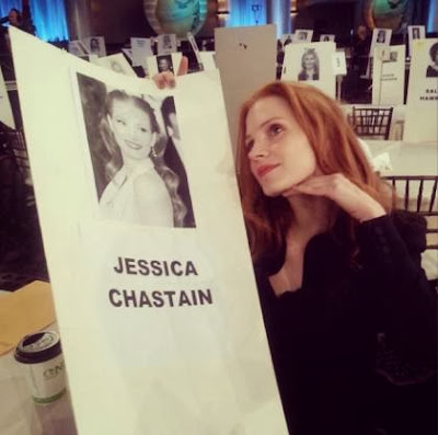 Jessica Chastain Golden Globes 2014