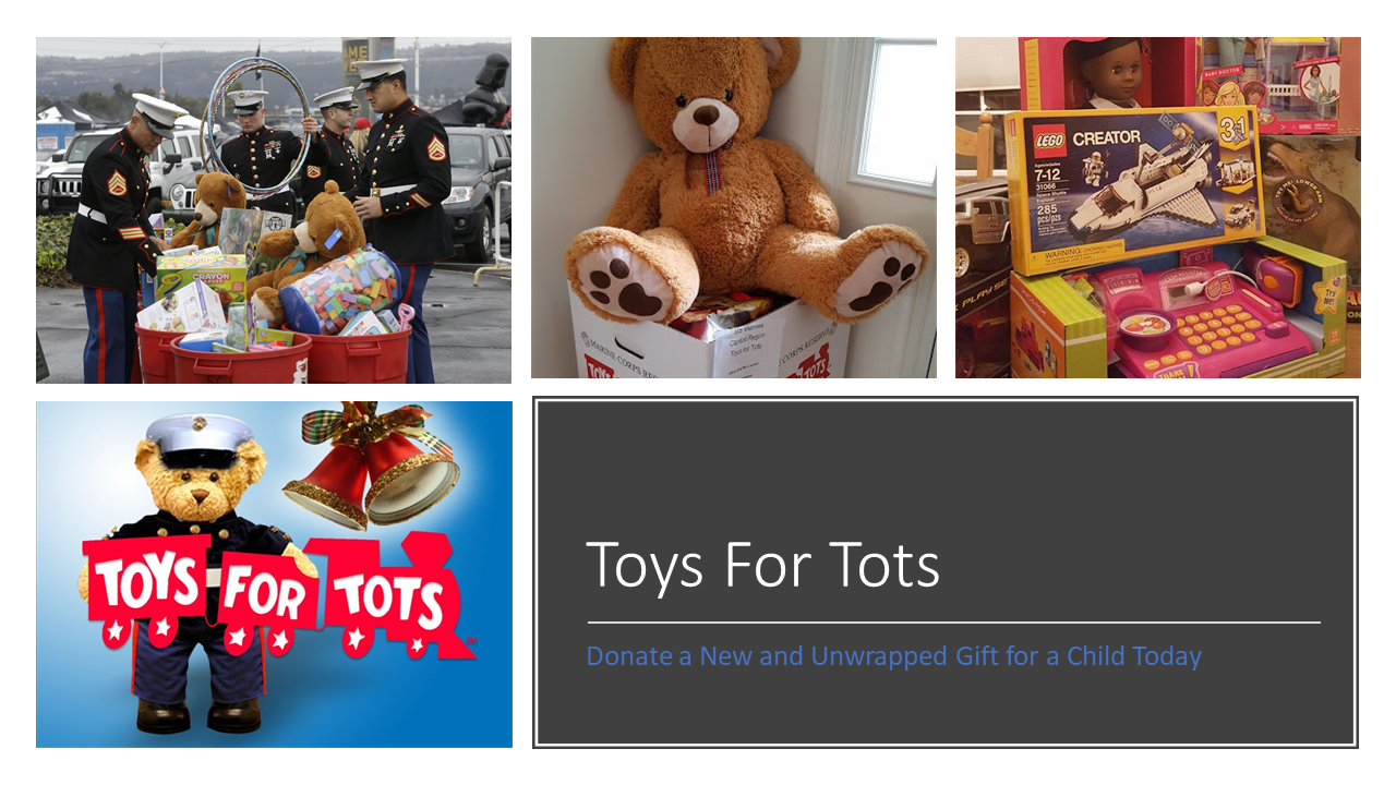 Toys For Tots Thank You : East hills homeowners association last chance to donate