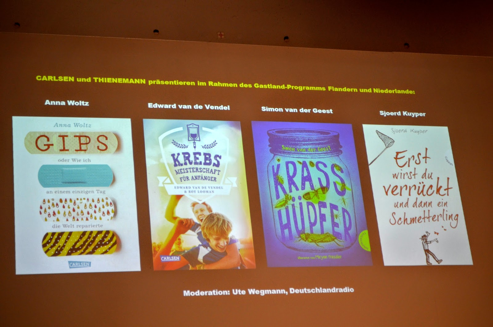 Cool Tour Katze Buchmesse Frankfurt 2016 Podiumsdiskussion Mit