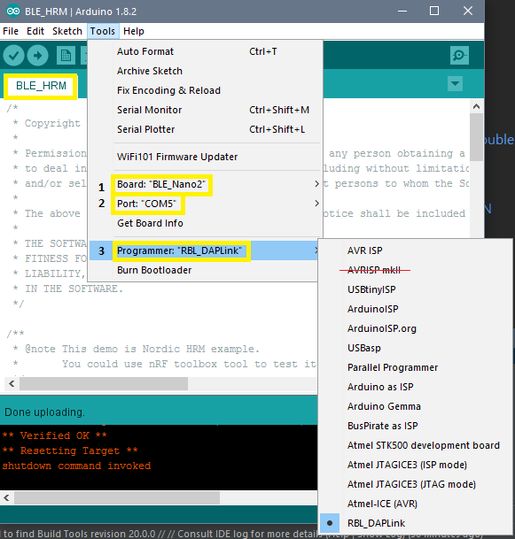 Arduino IDE + Android Studio for RedBear Nano 2 0 [Full Guide]