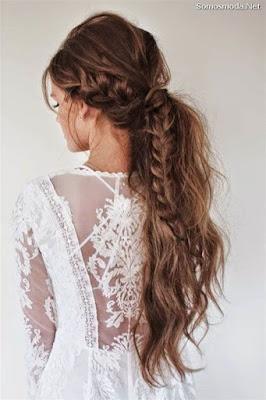 Peinado de moda para la boda