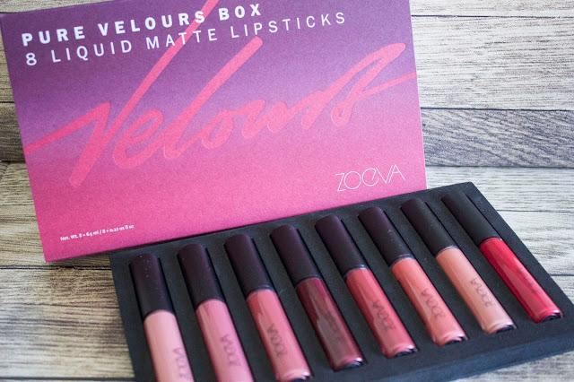 Zoeva Pure Velours Box
