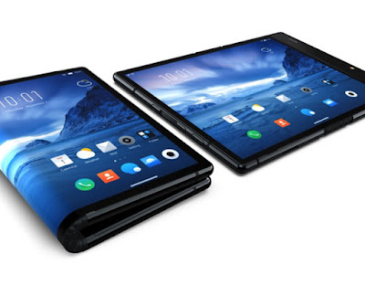 World's first foldable smartphone unveiled; not by Samsung or Huawei