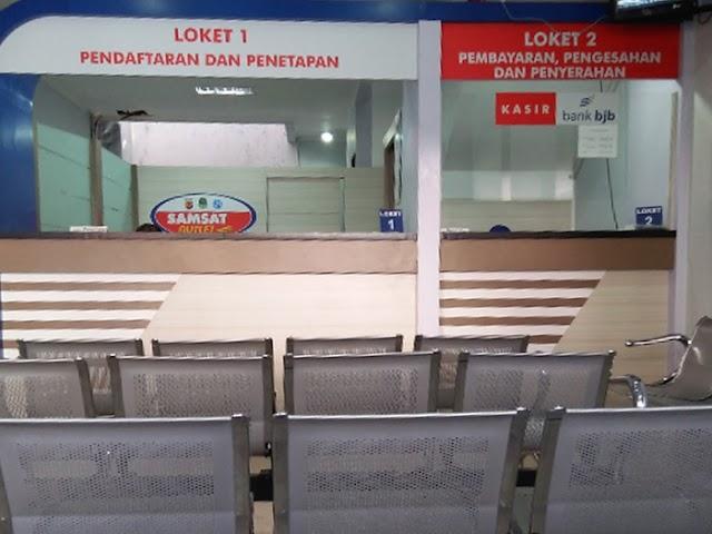 Lokasi Layanan Samsat Outlet KCP Bank BJB di Jawa Barat