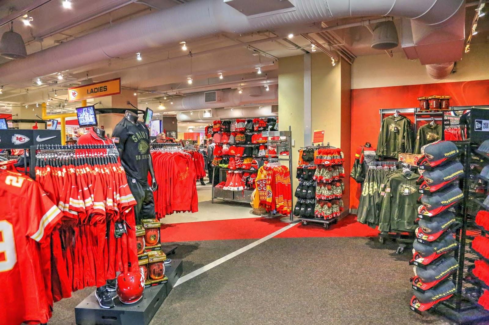 online retailer 75654 3d7b1 John and Sigrid's Adventures: Kansas City Chiefs Arrowhead ...