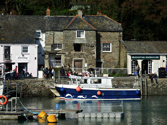 Abbey House on Padstow's North Quay, Cornwall