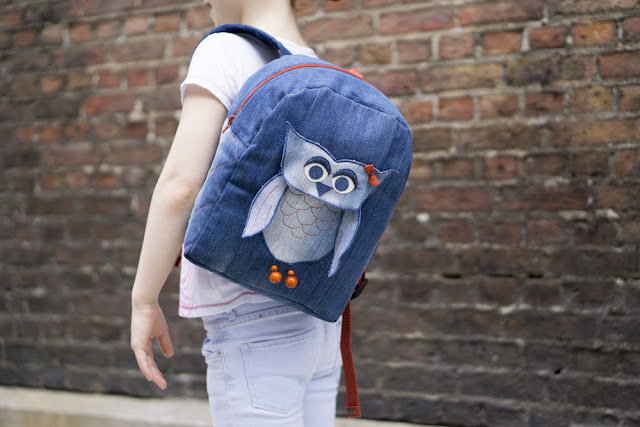 детский рюкзак с совой