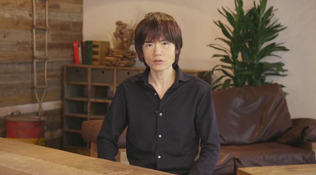 Masahiro Sakurai Nintendo E3 2018 younger skinnier appearance