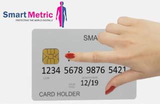 SmartMetric smart credit card photo