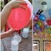 Mira el truco japonés  para inflar globos SIN helio y sin máquina.