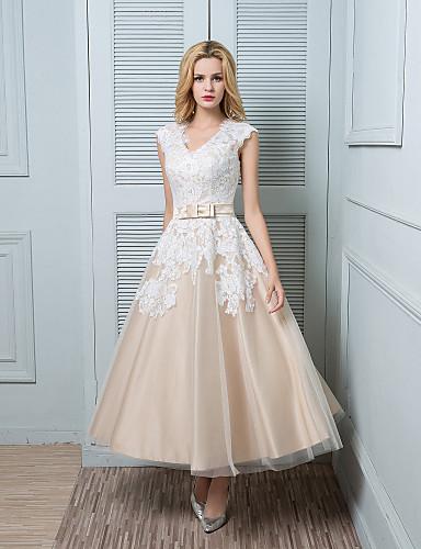 vestido de novia en color beige – vestidos largos