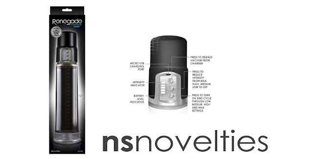 NS Novelties Renegade Powerhouse Pump at The Spot Dallas