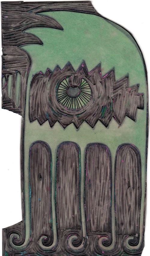 teratoiid blog t shirts linogravure coton biologique s rie limit e maj plaques de. Black Bedroom Furniture Sets. Home Design Ideas