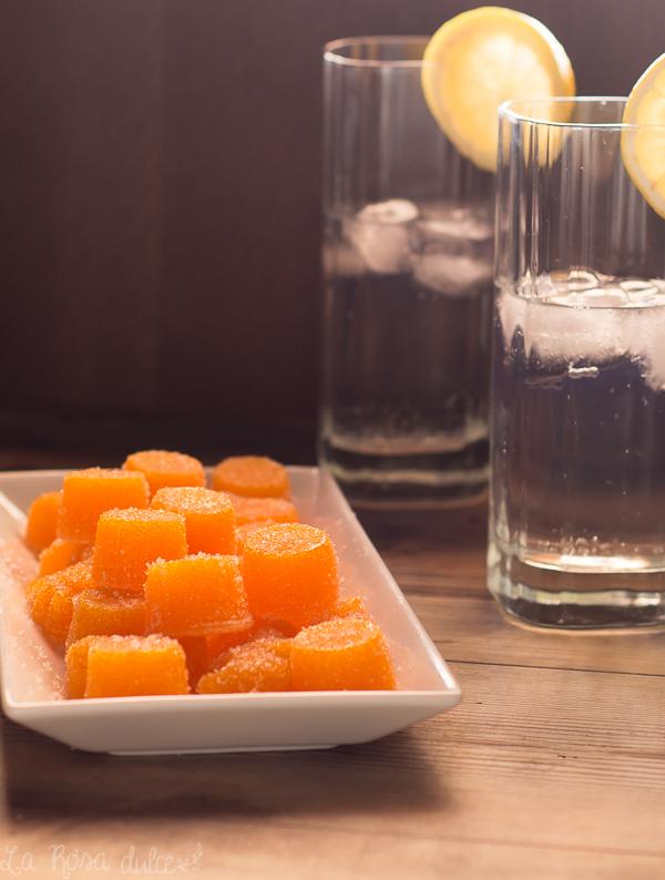 Gominolas de mango caseras