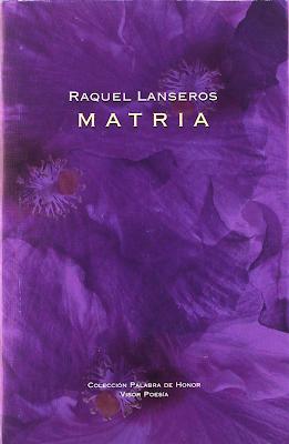 Matria de Raquel Lanseros