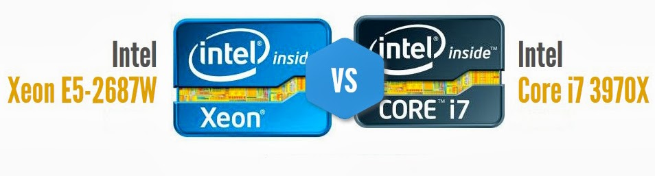 Intel Xeon E5 2687W vs Intel Core i7 3960X ~ Computers and More