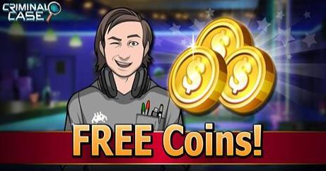 Free Coins Criminal Case Free Energy Criminal Case