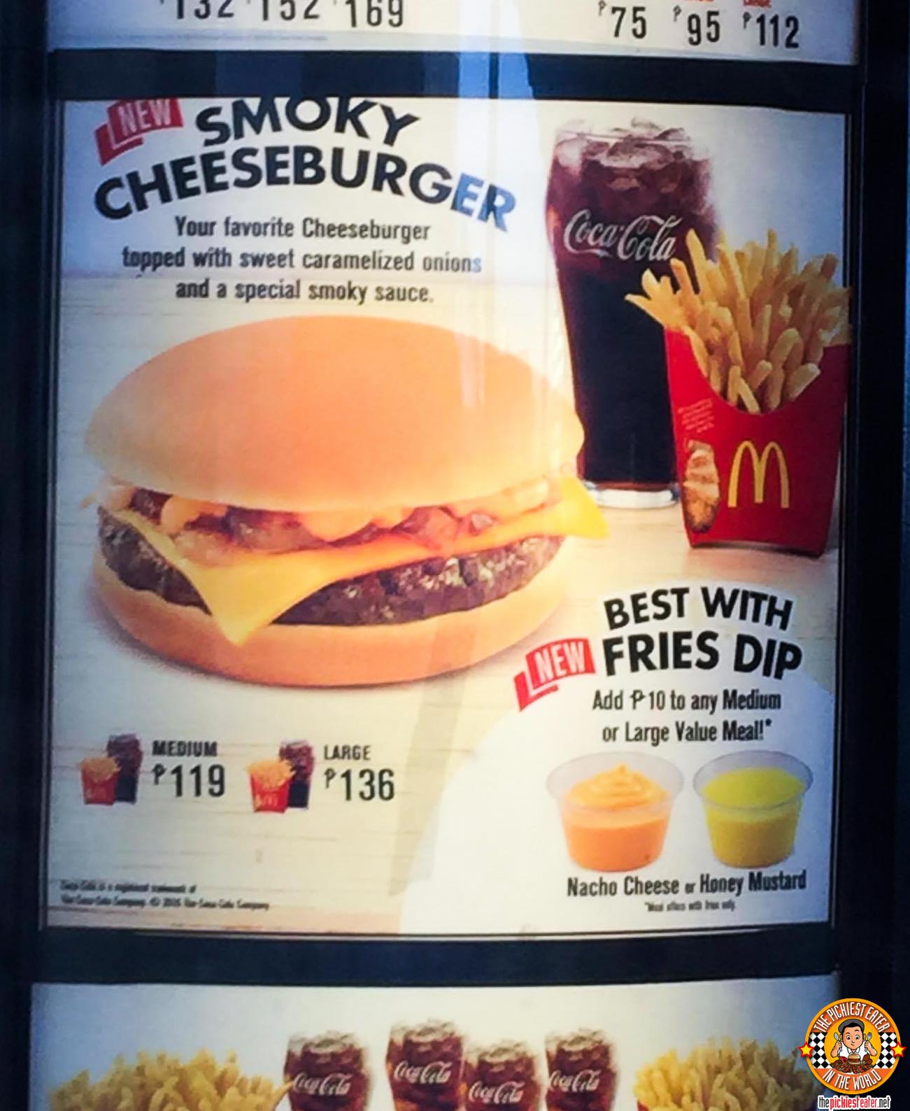 Cheeseburger Meal Mcdo Philippines