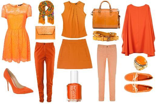 Tu Estilista Personal Annie 180 S Closet Tendencias Color Naranja