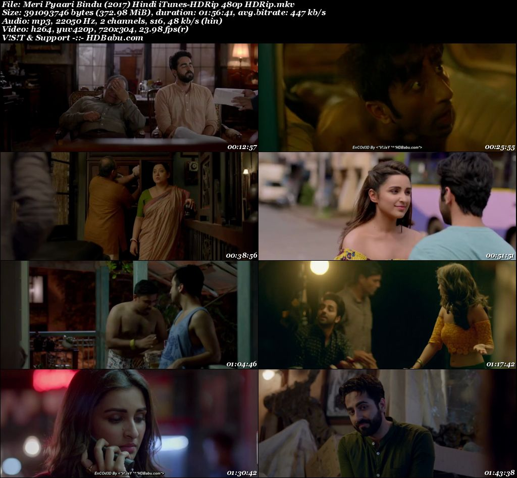 Meri Pyaari Bindu (2017) Hindi 480p HDRip Screenshot