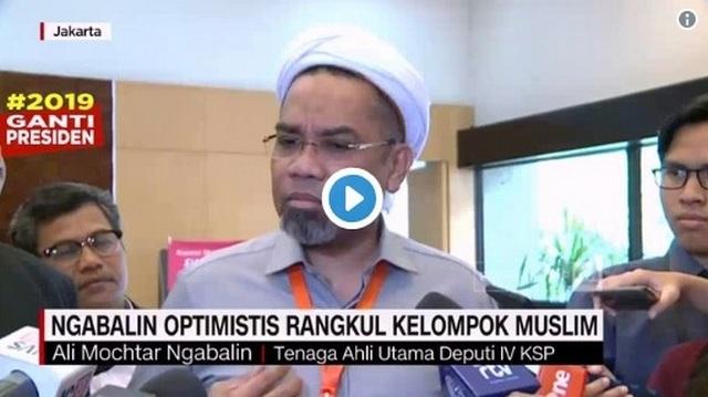 Ngabalin: Jokowi Menjalankan Tugas Mulia Mewakili Tuhan di Muka Bumi; Ini Tanggapan Warganet