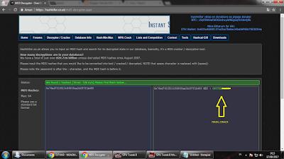Cara Descrypt Hash MD5 Online Work 100%