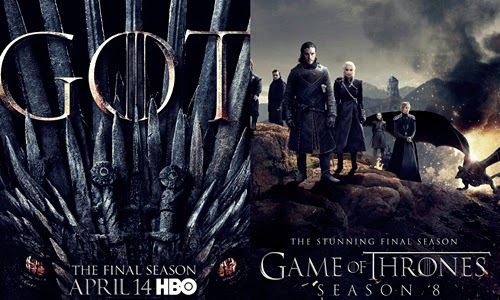 Jadwal dan Nonton Streaming Game of Thrones Final Season 8 di HBO Go Asia Subtitle Indonesia