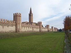 Montagnana's walls are some of the best preserved in the whole of Europe