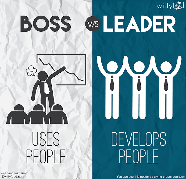 3-BOSS-uses-people+LEADER-develops-people