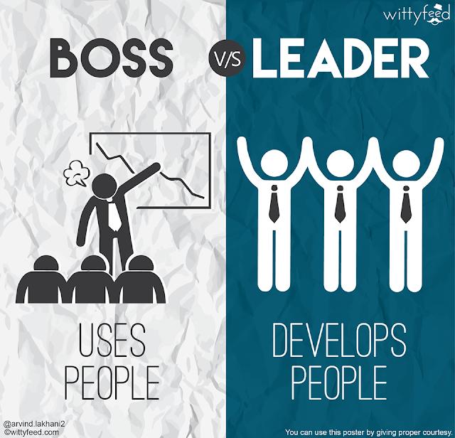 3-BOSS-uses-people+LEADER-develops-people