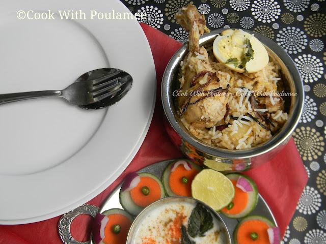 Chicken handi biryani - photo#36