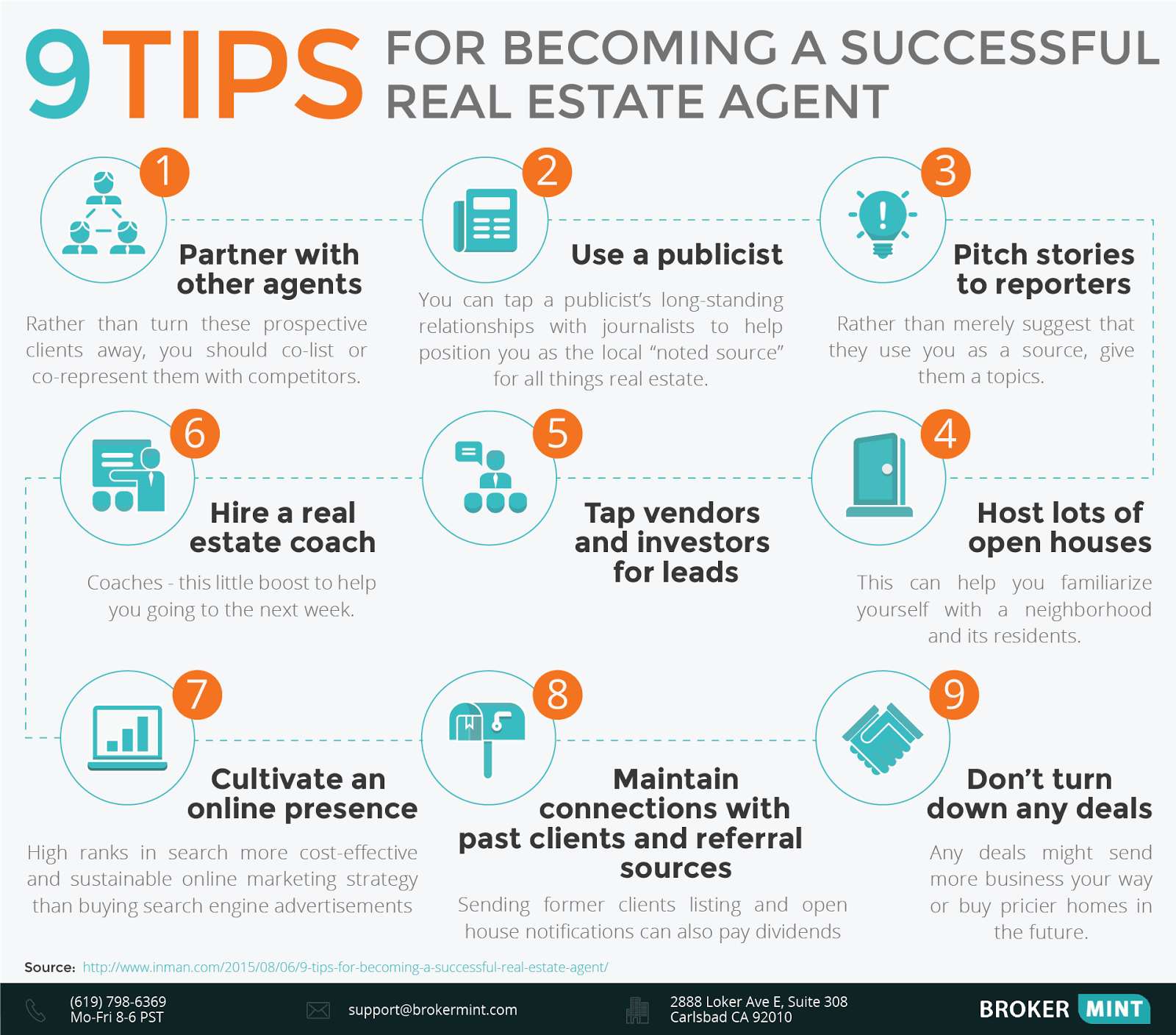 9 tips to become a successful real estate agent infographic 9 tips to become a successful real estate agent infographic fandeluxe Gallery