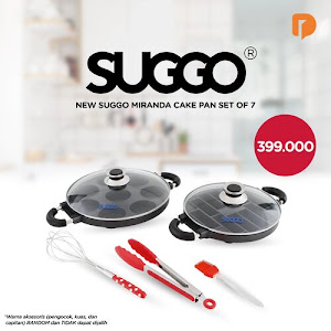 Suggo Miranda Cake Pan Set (Set of 7)