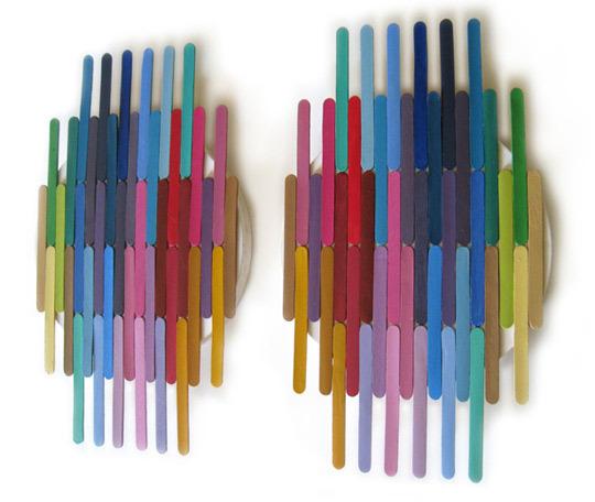 BlueBird Hill: popsicle stick art