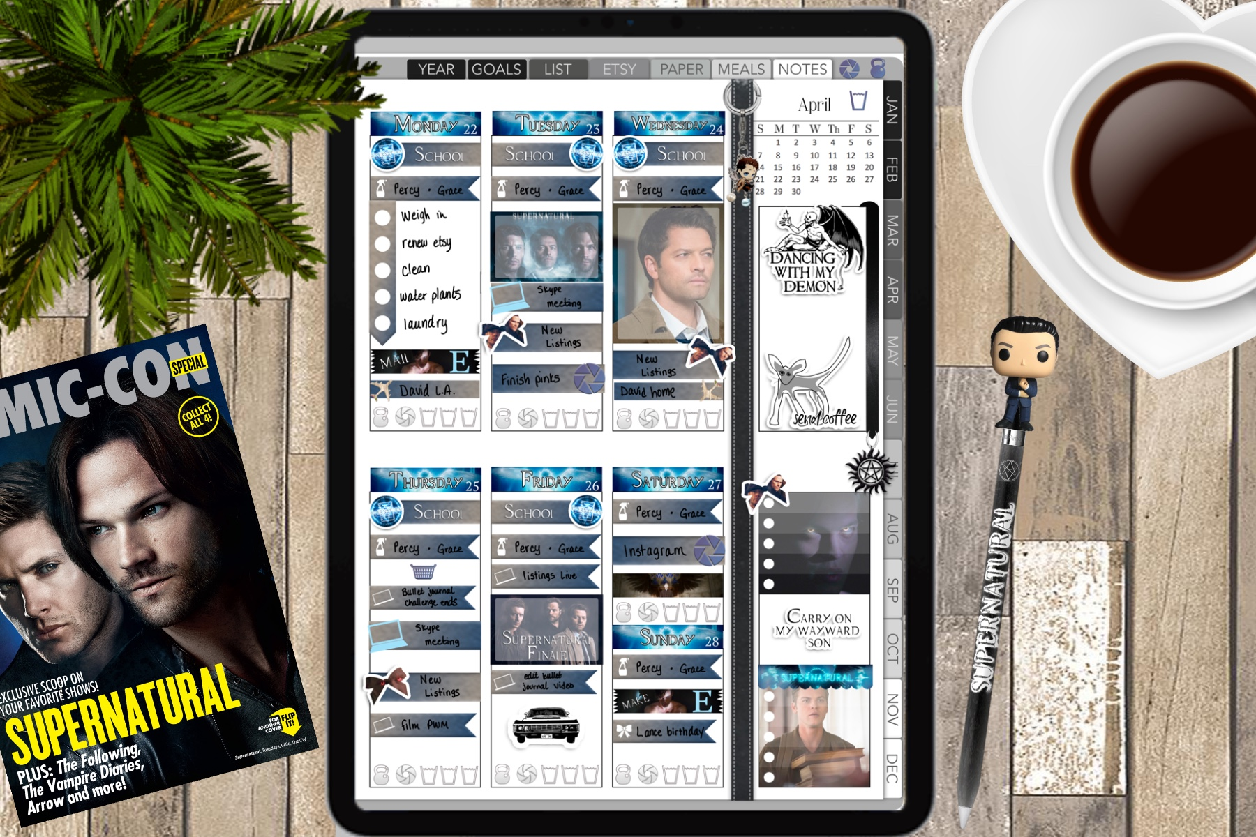 digital planner how to free downloads