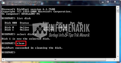 Cara Membuat Bootable Flashdisk Tanpa Harus Menggunakan Software TOOLS ( hanya menggunakan CMD) Untuk Install Windows