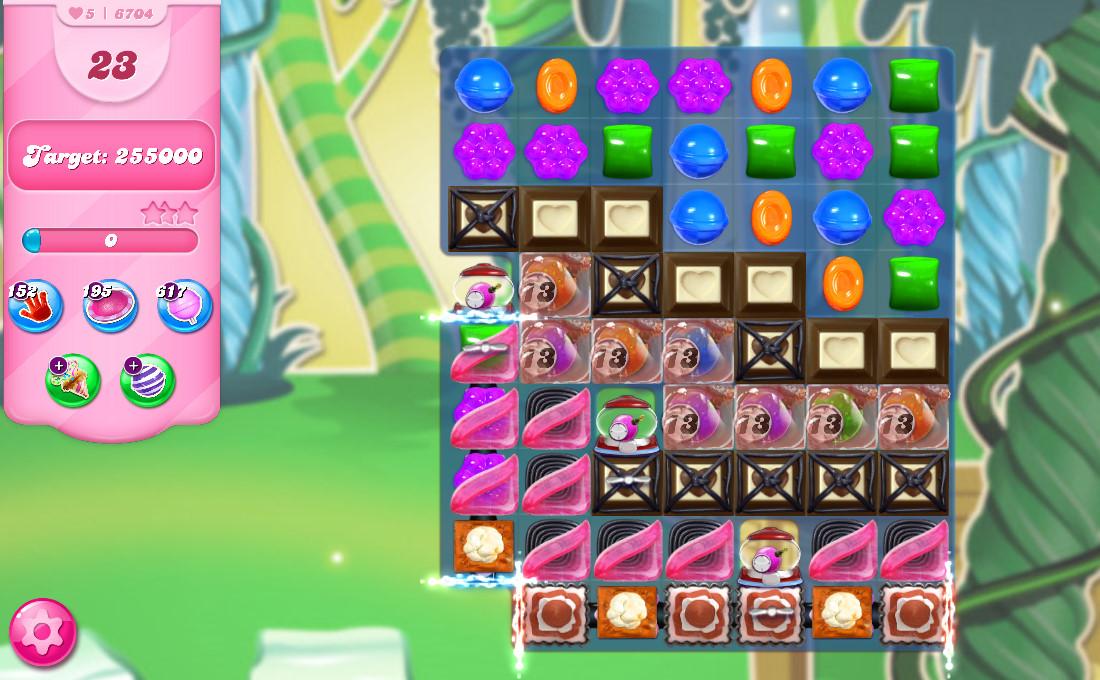 Candy Crush Saga level 6704