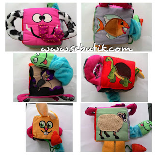 Mainan Bayi Meraba Kubus