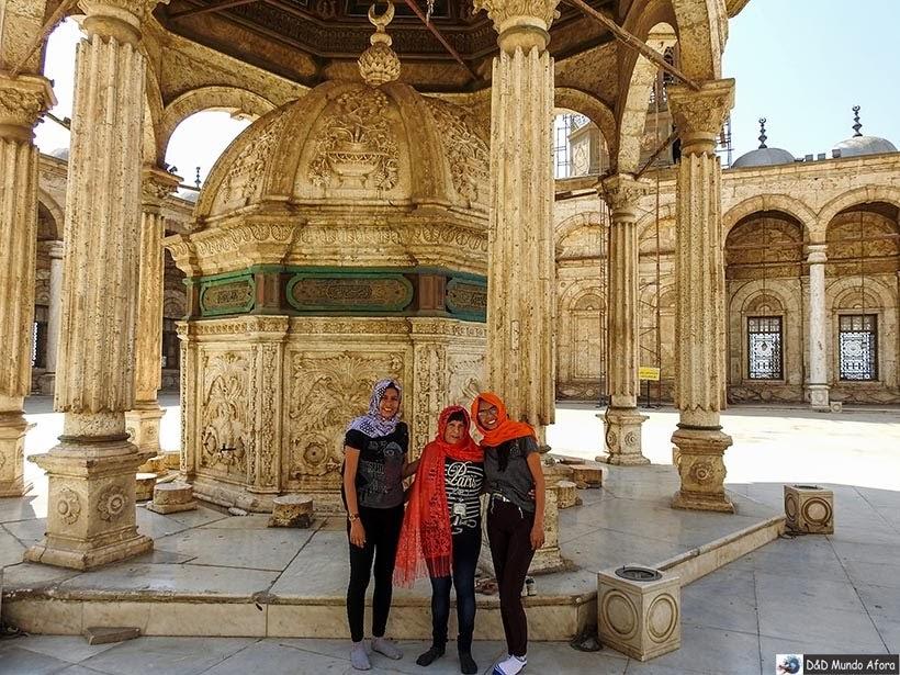 Mesquita de Alabastro na Cidadela de Saladino - Diário de Bordo: 2 dias no Cairo