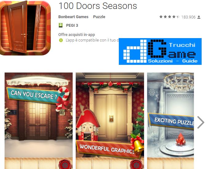 Soluzioni 100 Doors Seasons di tutti i livelli | Walkthrough guide