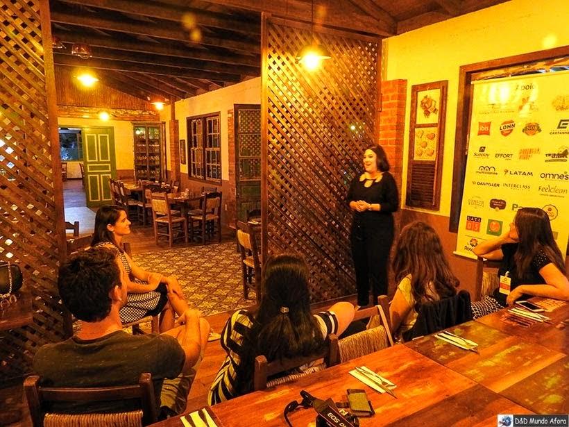 Rubia Ramos na Bodega do Zeca de Nova Veneza - Diário de bordo - Encontro Rota Sul em Santa Catarina