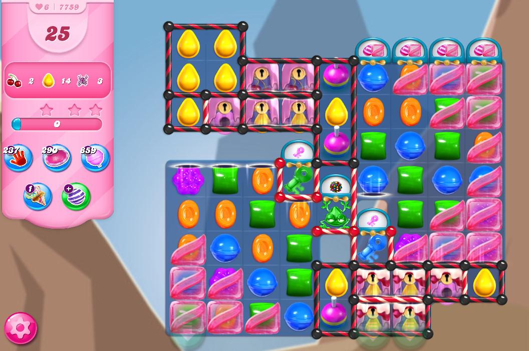 Candy Crush Saga level 7759