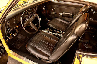 1969 Pontiac Firebird Sport Coupe Interior