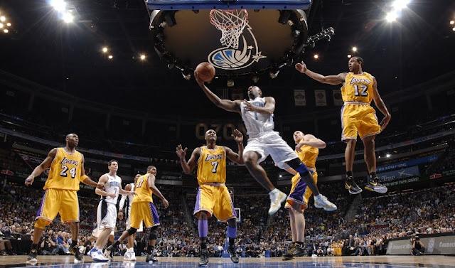 Sobre os jogos da NBA em Los Angeles