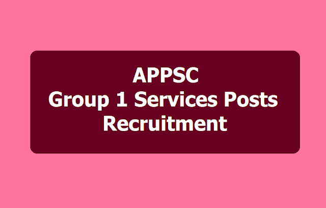 APPSC Group 1 Services posts